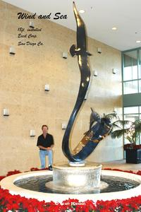 """Wind and Sea""Monumental Sculpturesby Scott Hanson - Monumental Bronze Sculptures - Monumental Bronze Sculptures by Scott Hanson -"