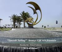 """Smooth Sailing""Monumental Sculpturesby Scott Hanson - Monumental Bronze Sculptures - Monumental Bronze Sculptures by Scott Hanson -"