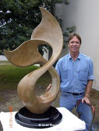 """Winters Song""Monumental Sculpturesby Scott Hanson - Monumental Bronze Sculptures - Monumental Bronze Sculptures by Scott Hanson -"